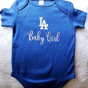 Other - Custom Made LA Baby Girl Onesies